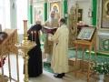 Возложение настоятельского креста