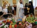 Освящение плодов в день Преображения Господня