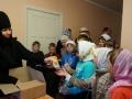 Юные паломники из Хохотуя в обители