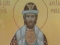 Мерная икона святого благоверного князя Александра Невского. Частное собрание.