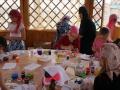 Рисование на ткани в технике батик