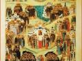 Композиция иконы составлена святителем