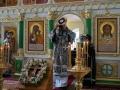 Высокопреосвященнейший Владимир совершил в обители вечерню с чином Пассии