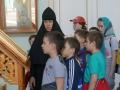 Учащиеся Православной гимназии в монастыре