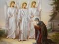 Явление Святой Троицы прп. Александру Свирскому