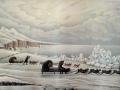 Зимняя дорога на берегу Охотского моря, 1856, с рис. Немировского