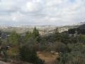 Вид на Иерусалим с монастыря Иоанна Предтечи