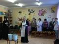 Водосвятный молебен в музыкальном зале