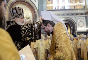Возведение митрополита Епископа Читинского и Петровск-Забайкальского Владимира