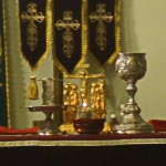Богослужение в монастыре