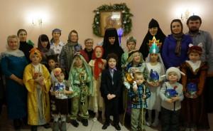Рождественский утренник в обители