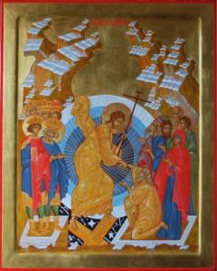 Сошествие во ад. Воскресение Христово